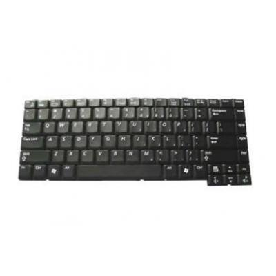 Samsung toetsenbord: Replacement keyboard, UK layout - Zwart, QWERTY