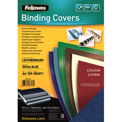 Fellowes Delta Binding cover - Blauw