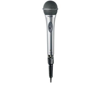 Philips microfoon: Microfoon met snoer SBCMD650/00 - Zwart