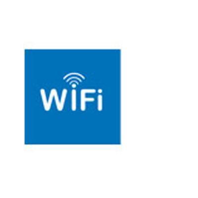 Apli pictogram: WiFi - Blauw