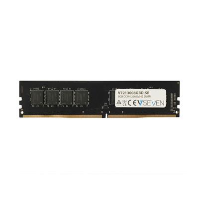 V7 8GB DDR4 PC4-21300 - 2666MHZ 1.2V DIMM Desktop Memory Module - 213008GBD-SR RAM-geheugen