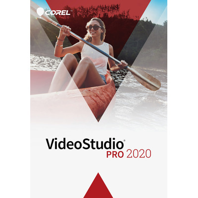 Corel VideoStudio 2020 Pro (Dutch/French) Softboxen