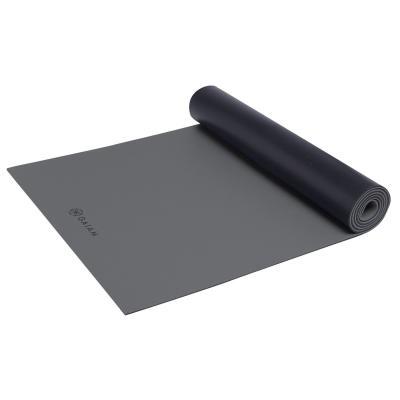 Gaiam fitness, gymnastiek & gewichtstraining: Athletic Fitness- / Yogamat - 5 mm - Zwart