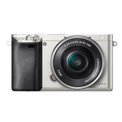 Sony digitale camera: α ILCE-6000L - Zilver