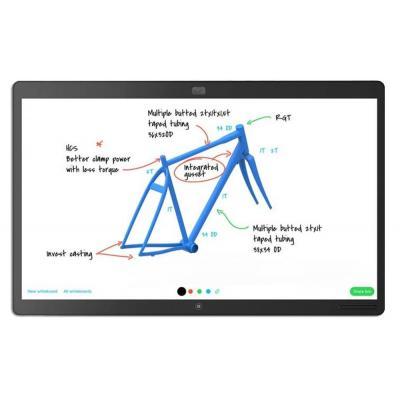 Cisco touchscreen monitor: Spark Board 55'' 4K - Zwart