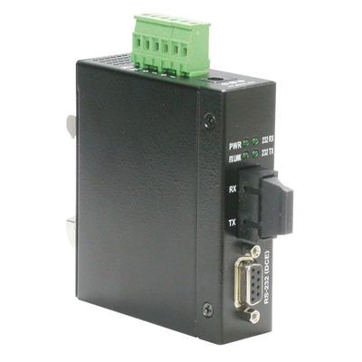 ROLINE Industrial Converter RS232 - Multimode Optical Fiber, SC Media converter