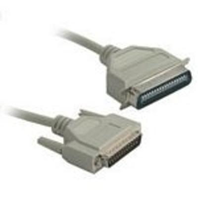 C2g printerkabel: 15m IEEE-1284 DB25/C36 Cable - Grijs