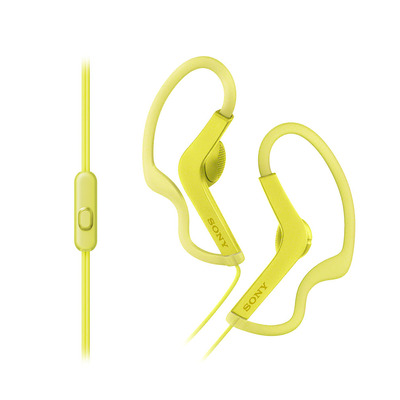 Sony MDRAS210APY Headset - Geel