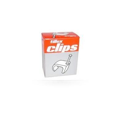 Tillex kabelklem: Cable clips 3-5 mm
