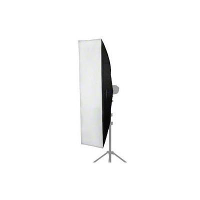 Walimex softbox: Striplight 30x120cm for Electra small - Zwart, Zilver, Wit