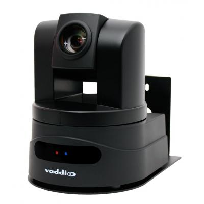 Vaddio camera beugel/bracket: Thin Profile Wall Mount Bracket - Zwart