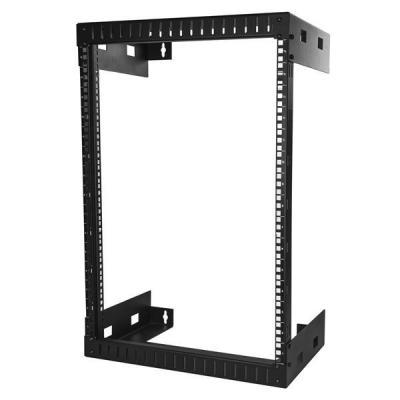 Startech.com rack: 15U wandmonteerbaar server rack open frame serverkast 30 cm diep - Zwart