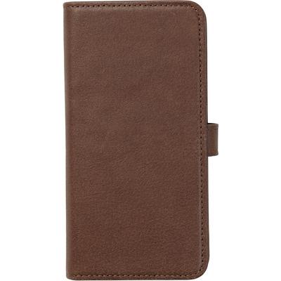 ESTUFF Iphone X Leather wallet Mobile phone case - Bruin