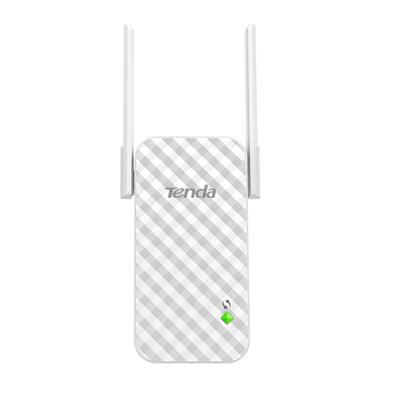 Tenda 802.11b/g/n, 2 x 3 dBi, 111 x 56 x 47.7 mm Netwerk verlenger - Grijs,Wit