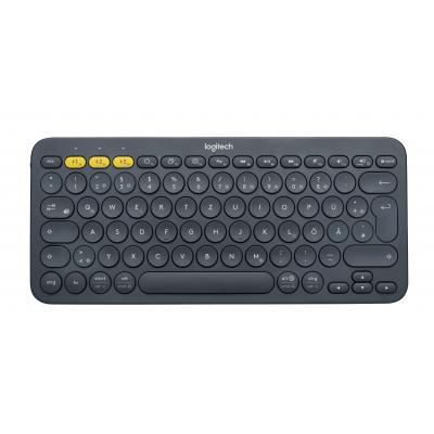 Logitech toetsenbord: K380 - Grijs, QWERTZ