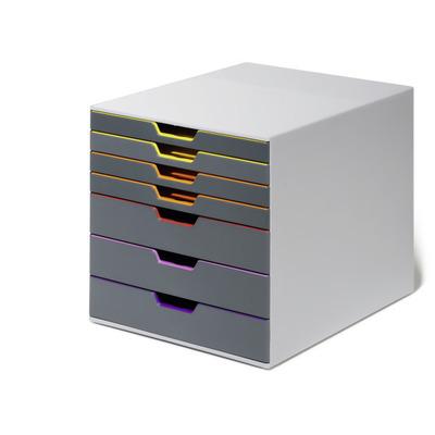 Durable Varicolor 7 Brievenbak - Grijs, Multi kleuren
