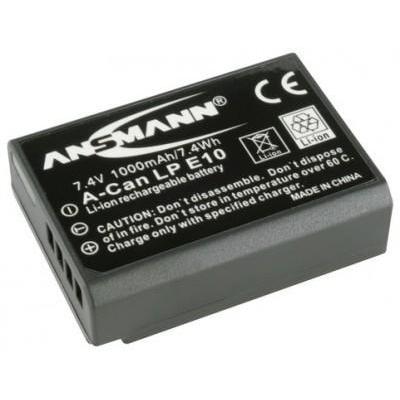 Ansmann A-Can LP E10 - Zwart