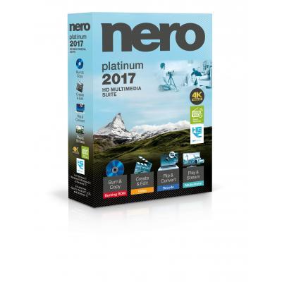 Nero algemene utilitie: 2017 Platinum