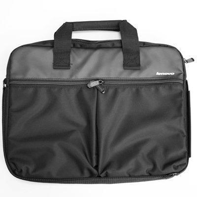 Lenovo laptoptas: Simple Toploader T1050 - Zwart, Grijs