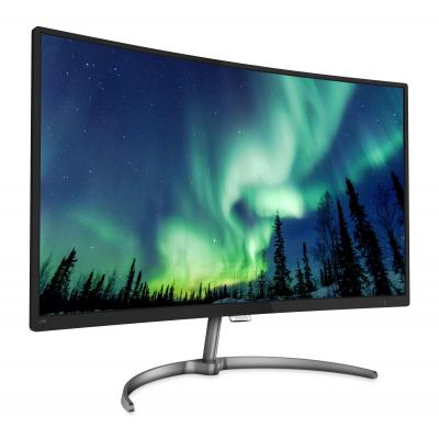 Philips monitor: Gebogen LCD-monitor met Ultra Wide-Color 278E8QJAB/00 - Zwart