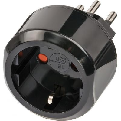 Brennenstuhl stekker-adapter: 1508642 - Zwart