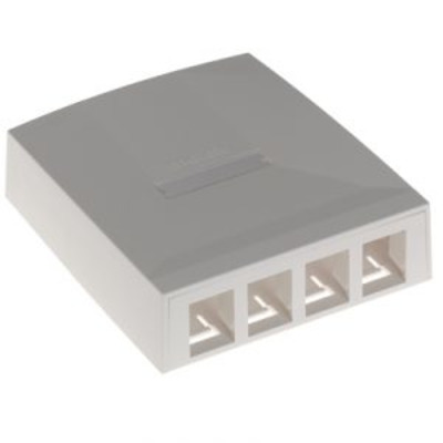 Molex C5e UTP, Cat 6 UTP, Cat 6A, Thermoplastic UL94V-0 Inbouweenheid - Wit