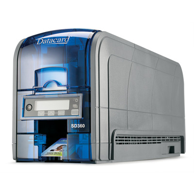 DataCard SD360 Plastic kaart printer - Blauw, Grijs