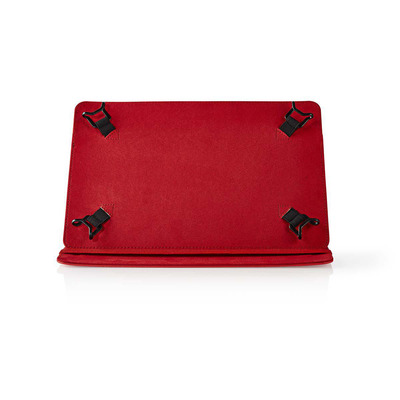 Nedis Tablet Folio Case, 10', Universal, Red Tablet case