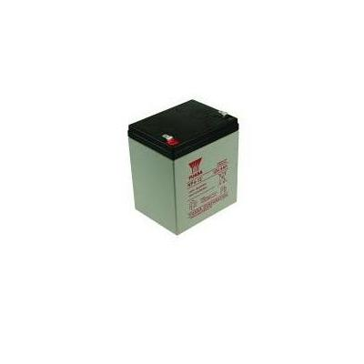 2-power batterij: Valve Regulated Lead Acid, 4000mAh, 12V - Zwart, Grijs