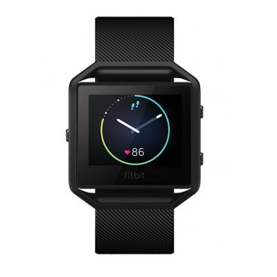 Fitbit sporthorloge: Blaze - Zwart