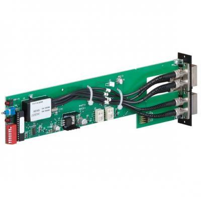 Black Box Pro Switching System, 2U, A/B Switch Card, Multimode Fiber Optic, SC, Latching Netwerkkaart