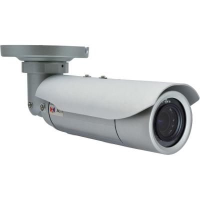 Acti beveiligingscamera: 3MP, CMOS, 1250 TVL, H.264, 52dB, PoE, White - Wit
