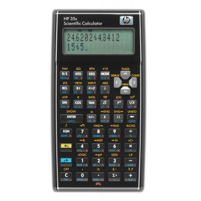 Hp calculator: 35s Scientific Calculator - Zwart