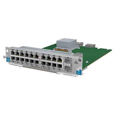 Hewlett Packard Enterprise 5930 24-port SFP+ / 2-port QSFP+ with MacSec Module Netwerk switch .....