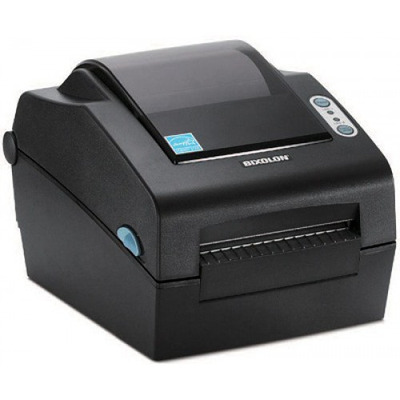 Bixolon 300dpi, 127mm/s, Cutter, Serial, Parallel, USB, Dark Grey Labelprinter - Zwart