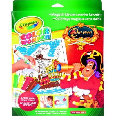 Crayola kleurplaat en boek: Color Wonder - Box set Piet Piraat