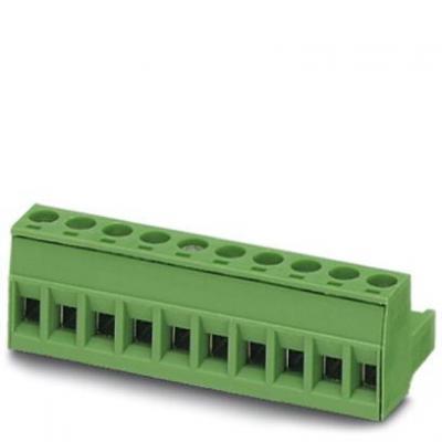Phoenix contact elektrische aansluitklem: Printed-circuit board connector - MSTB 2.5/ 8-ST-5.08 - Groen