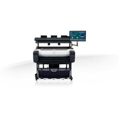 Canon grootformaat printer: imagePROGRAF iPF785 - Zwart, Cyaan, Magenta, Mat Zwart, Geel