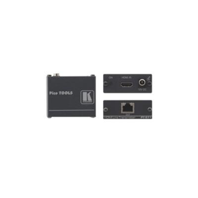 Kramer Electronics HDMI over Twisted Pair Transmitter AV extender - Zwart