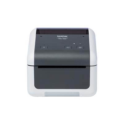 Brother 300 x 300 dpi, 152 mm/sec, RS-232C, USB 2.0, 10/100Base-TX, 108 x 155 x 224 mm, 2.08 kg Labelprinter - .....