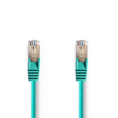 Nedis Cat 5e SF/UTP Network Cable, RJ45 Male - RJ45 Male, 30 m, Green Netwerkkabel - Groen