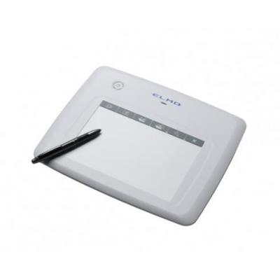 Elmo CRA-1, 120 rps, 1,024 levels, 2.4 GHz, 0.42 mm, White Tekentablet - Wit