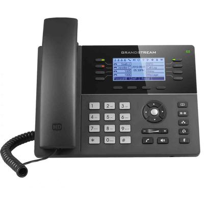 Grandstream Networks LCD 200x80px, USB, IP, 925g IP telefoon - Zwart