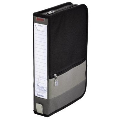 Hama Office Wallet 64, grey/black - Grijs