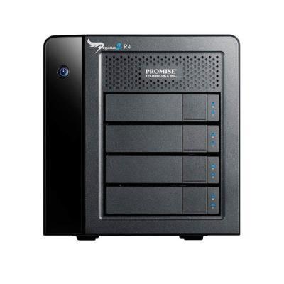 Promise technology SAN: Pegasus2 R4 - Zwart