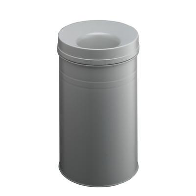 Durable Waste basket Safe+ round 30 Prullenbak - Grijs