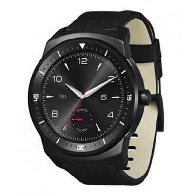 LG smartwatch: G Watch R - Zwart