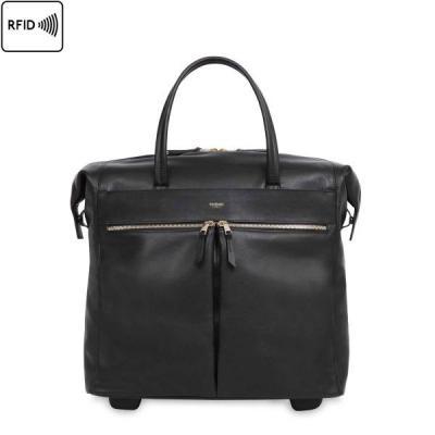 Knomo bagagetas: 39.5x37.5x21cm, 2l, 2.5kg - Zwart