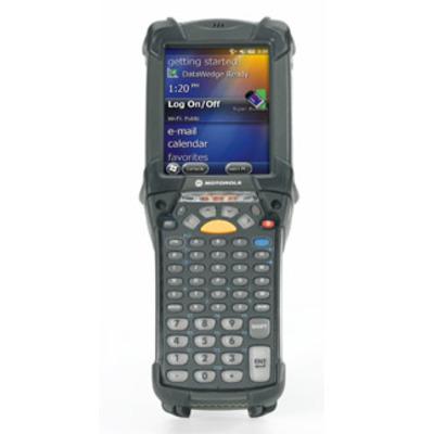 Zebra PDA: MC9200 - Zwart, Alphanumeric