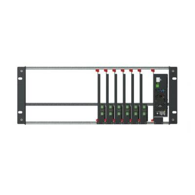 TV One ONErack 4RU Kit includes Chassis, 6 modules and a 250W power supply Rack toebehoren - Zwart